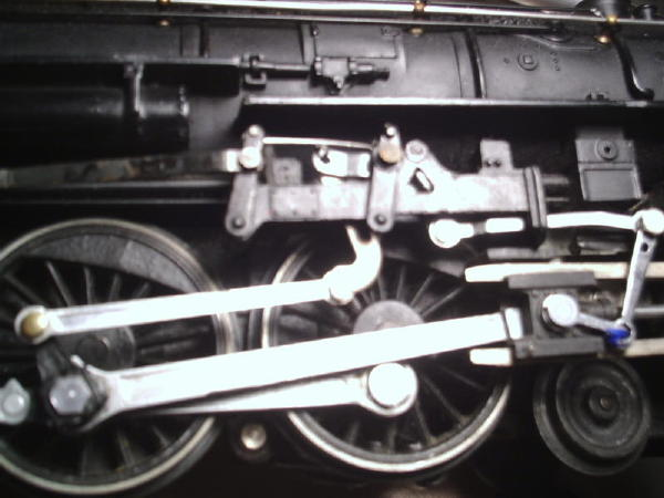 tinplate times the baker valve gear was only partially incorrectly assembled and was partially held together wire the radius rod on the engineer s side was bent and